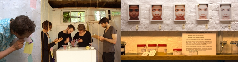 Works from the Everything but the Kitchen exhibition at Harts Lane Studios